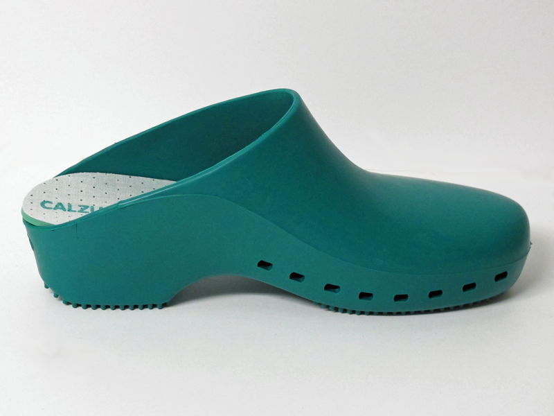 Surgical Clogs Green Closed Double Size 42 43 Lavabis