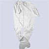 Decease-coverall (Unionall), Perma safe, white, S