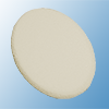 Cosmetic sponges, latex, fine, oval