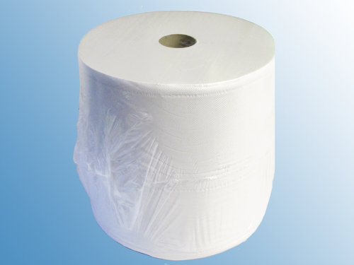 Cleaning Cloth Large Roll Paper White 3 Layer 38 X 36 Cm 1000