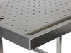 Body edition high-grade stainless steel, perforated plate