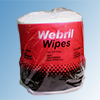 Webril® cotton wool wipes, 20 x 20 cm, roll