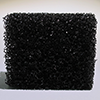 Stipple sponge coarse-pore, black