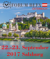 FORUM BEFA SALZBURG vom 22.-23. September 2017