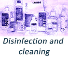 Disinfection and cleaning