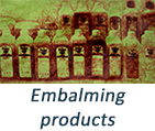 Embalming products