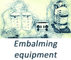 Embalming equipment